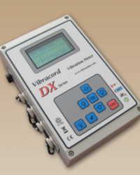 PORTABLE VIBRATION BLASTING MONITOR 4DX-SERIES