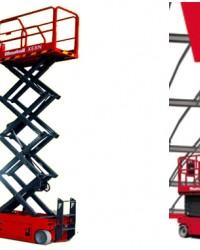 Pusat Harga Jual Scissor Lift | Manlift | Tangga Elektrik Mantall 12 Meter Baru Murah