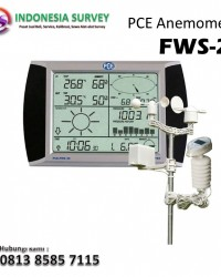 Jual Anemometer Weather Station Meter PCE FWS 20 HP: 081908611401