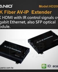 Fiber Optic Extender 4K AV IP Distribution