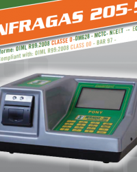 INFRAGAS 205-5 | UJI EMISI | PORTABLE EXHAUST GAS ANALYZER