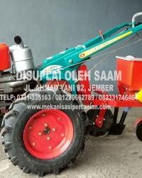 Implement Alat Tanam Jagung Ditarik Tractor Satu Jalur
