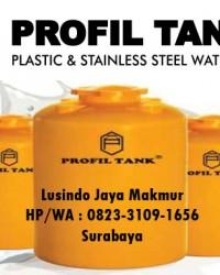 PROFIL TANK - TANGKI AIR - TANDON AIR - PLASTIC - STAINLES STEEL - SEPTICK TANK