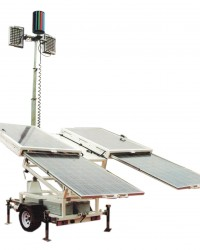 THUNDER Solarsun and LED Light Tower