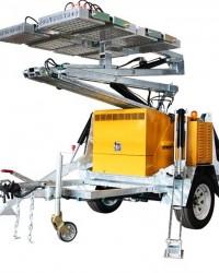 THUNDER SolarSun Panel Power and LED Lamp