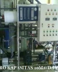 MESIN RO SEAWATER KAPASITAS 2000 LTR/JAM