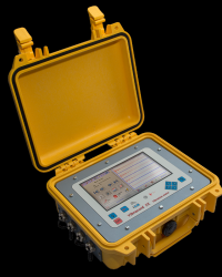 PORTABLE VIBRATION BLASTING MONITOR MODEL B.7 FX-SERIES