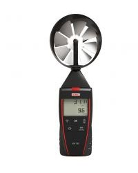THERMO ANEMOMETER WITH INTEGRATED VANE PROBE