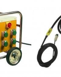 Electronic Converter High Frequency Concrete Vibrator JEDSON JEXO 60