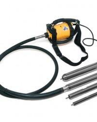 Portable Concrete Vibrator Handy Mesin Cor Beton Merk DINGO - ENAR