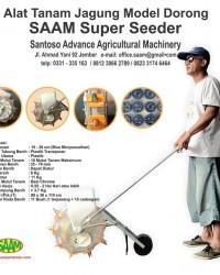 Alat Tanam Jagung Tipe SAAM SUPER SEEDER
