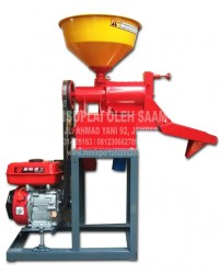 Penggilingan Padi - Rice Polisher SAAM-RM40, Komplit