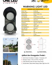 Lampu Warning Light 20 Cm - 2 Aspek