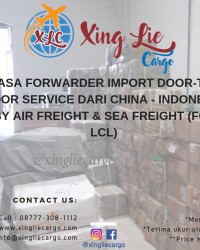 Jasa Forwarder Import Barang Lartas (Kosmetik, Kimia, Supplement dll) dari China ke Indonesia