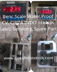 TIMBANGAN DUDUK / BENCH SCALE  WATERPROOF -