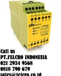 Pilz GmbH| Distributor| PT.Felcro Indonesia| 0811.910.479| sales@felcro.co.id