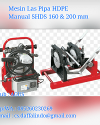 Mesin Manual SHD 160/50 2 Clamp