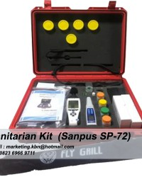 Sanitarian Kit || Sanitarian Kit Sanpus SP-72 || Jual Sanitarian Kit SP-72 || Sanitasi Kit