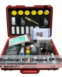 Sanitarian Kit || Sanitarian Kit Sanpus SP-75 || Jual Sanitarian Kit SP-75 || Sanitasi Kit