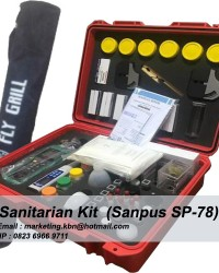 Sanitarian Kit || Sanitarian Kit Sanpus SP-78 || Jual Sanitarian Kit Sanpus SP-78 || Sanitasi Kit