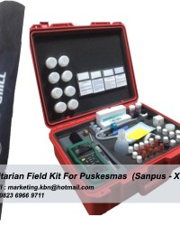 Sanitarian Kit || Sanitarian Field Kit For Puskesmas Sanpus-Xtran || Jual Sanitarian Kit For Puskesm