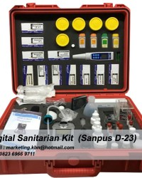 Digital Sanitarian Field Kit || Digital Sanitarian Kit Sanpus D-23 || Jual Digital Sanitarian Kit S