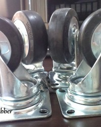 Caster Wheel Nansin Rubber