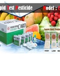 Pesticide Rapid Test || Pestisida Card Rapid Test || Pesticide Card || Jual Pestisida Test