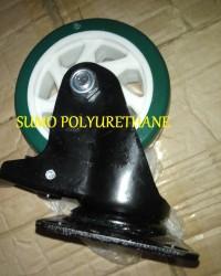 Caster Wheel SUMO PU Green
