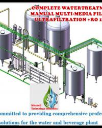 MESIN WATERTREATMENT RO 400M3/ HARI