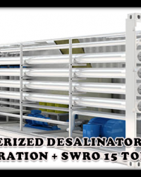 MOBILE WATERTREATMENTS SWRO 400M3