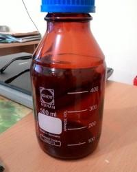 Botol Lab 500 ml Amber