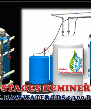 DOUBLE STAGES DEMINERALIZER