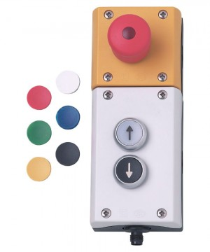ifm ecomat 300 AC012S | AS-i e-stop push button box
