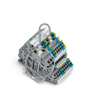 WAGO TOPJOB®S rail-mounted terminal blocks 2000 Series (1 (1,5) mm²/16 AWG)