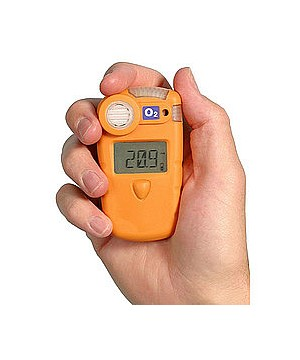 "Personal Single Gas Detector O2 ""Oxygen"" || Gas Detector Gasman-O2"