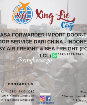 Jasa Ekspedisi China Door to Door ke Indonesia