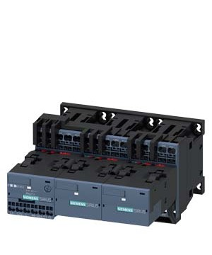 JUAL SIEMEN SIRIUS 3RA24 contactor assemblies for star-delta (wye-delta) starting, up to 90 kW