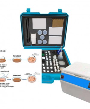MICROBIOLOGY FOOD AND WATER TEST KIT MICRO-04 | ALAT MONITORING MIKROBIOLOGY
