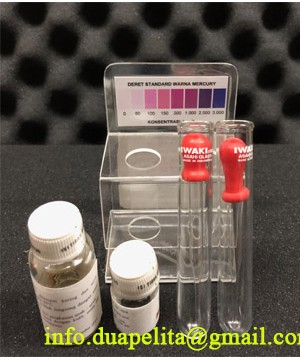 MERCURY TEST KIT || REAGENT TEST KIT MERCURY, JUAL MERCURY TEST KIT, TEST KIT