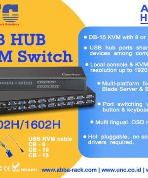 LCD Console Drawers & KVM Switch AUSTIN-HUGHES, Harga Bersaing & Bergaransi