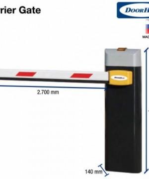 Palang Parkir Barrier Gate Eropa 3 atau 4 mtr Harga Kompetitif