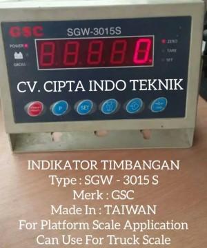 JUAL INDIKATOR GSC SGW 3015 S
