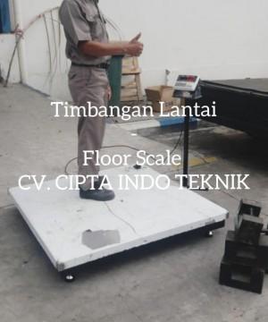 TIMBANGAN LANTAI - FLOOR SCALE
