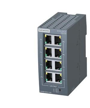SIEMENS 6GK5008-0BA10-1AB2 | SCALANCE XB-000 unmanaged