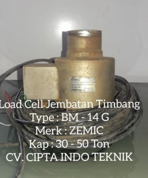LOADCELL ZEMIC BM 14 G 30 TON -