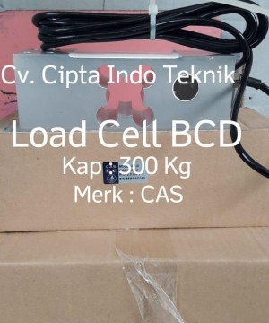 LOADCELL BCD MERK CAS KAP 300 Kg