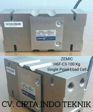 LOAD CELL  H6F 100 KG MERK ZEMIC