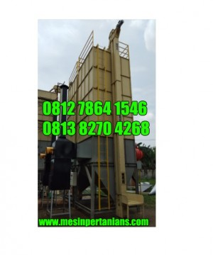 Mesin Pengering Jagung ( Vertical Dryer) Kap 6.000 Kg/Batch