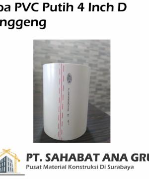 Pipa PVC Putih 4 Inch D Langgeng